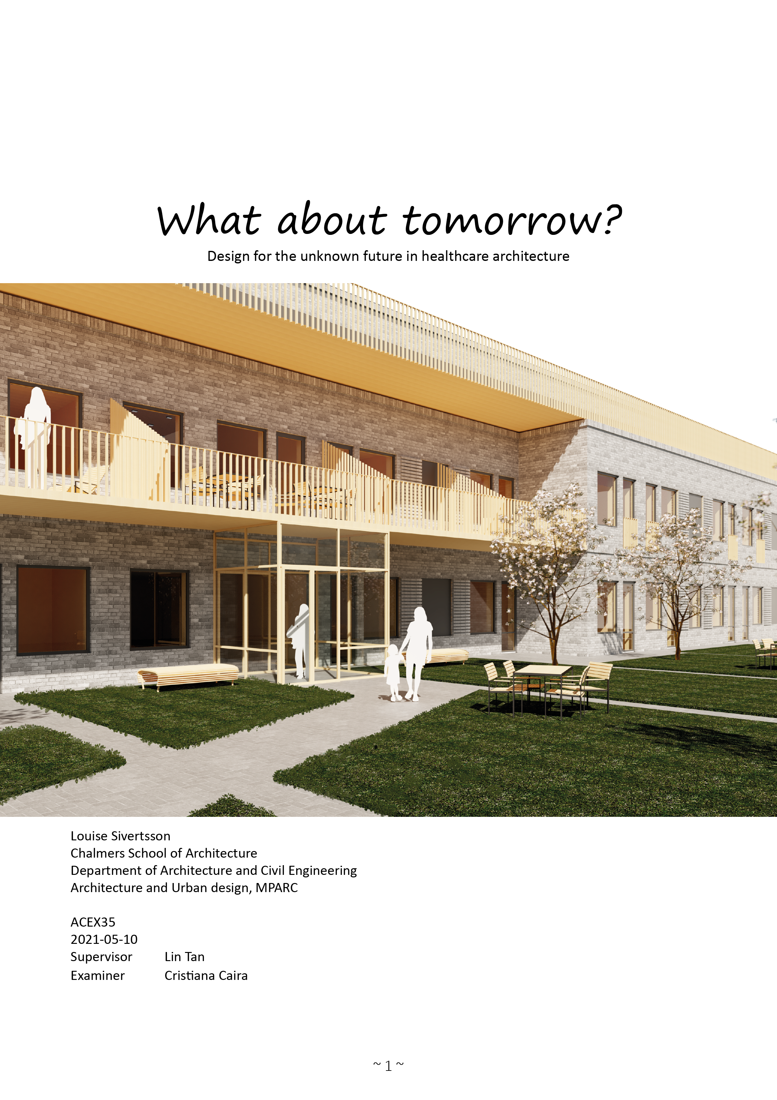 What about tomorrow? - Booklet